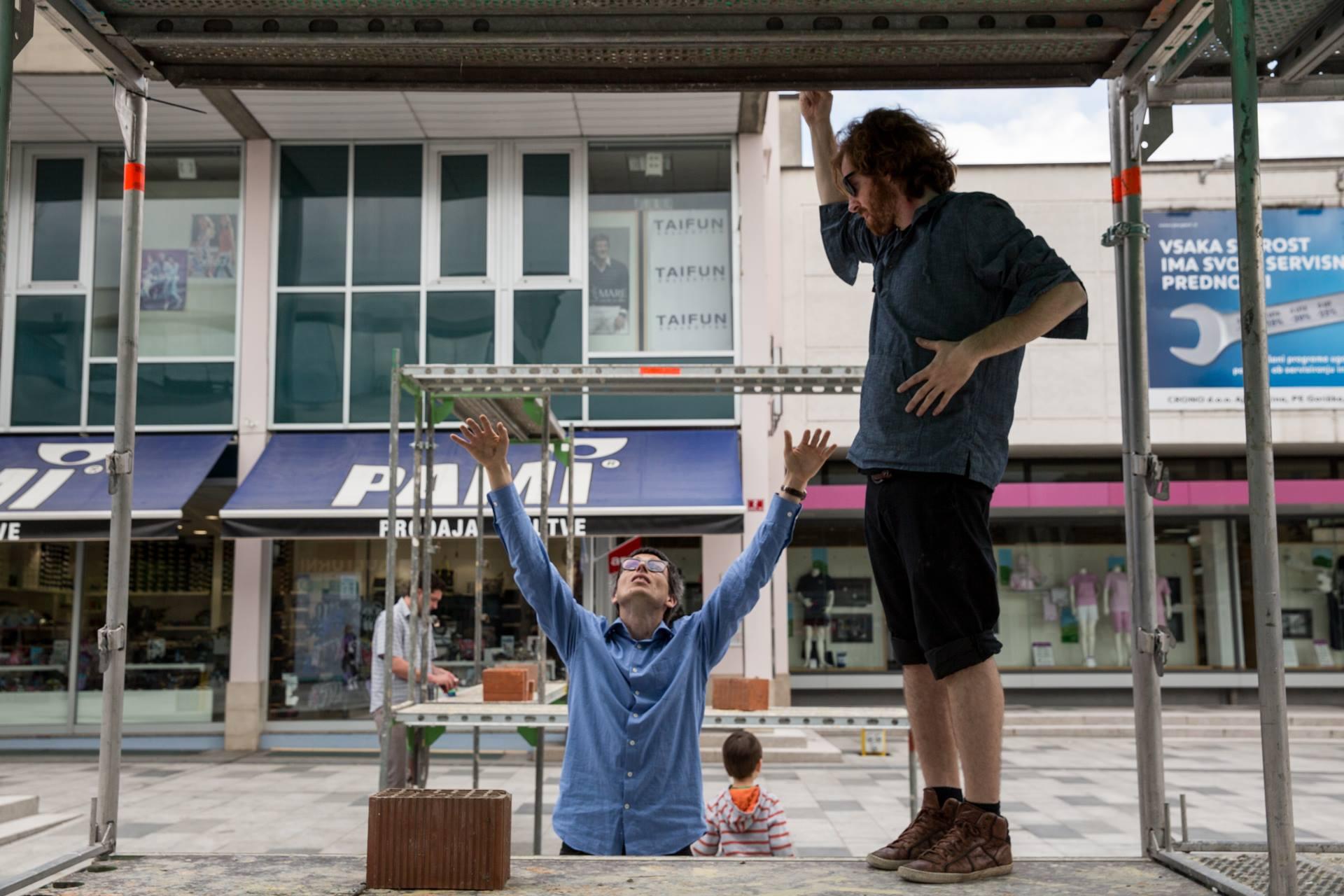 Mesto Knjige festival – gradbena scena