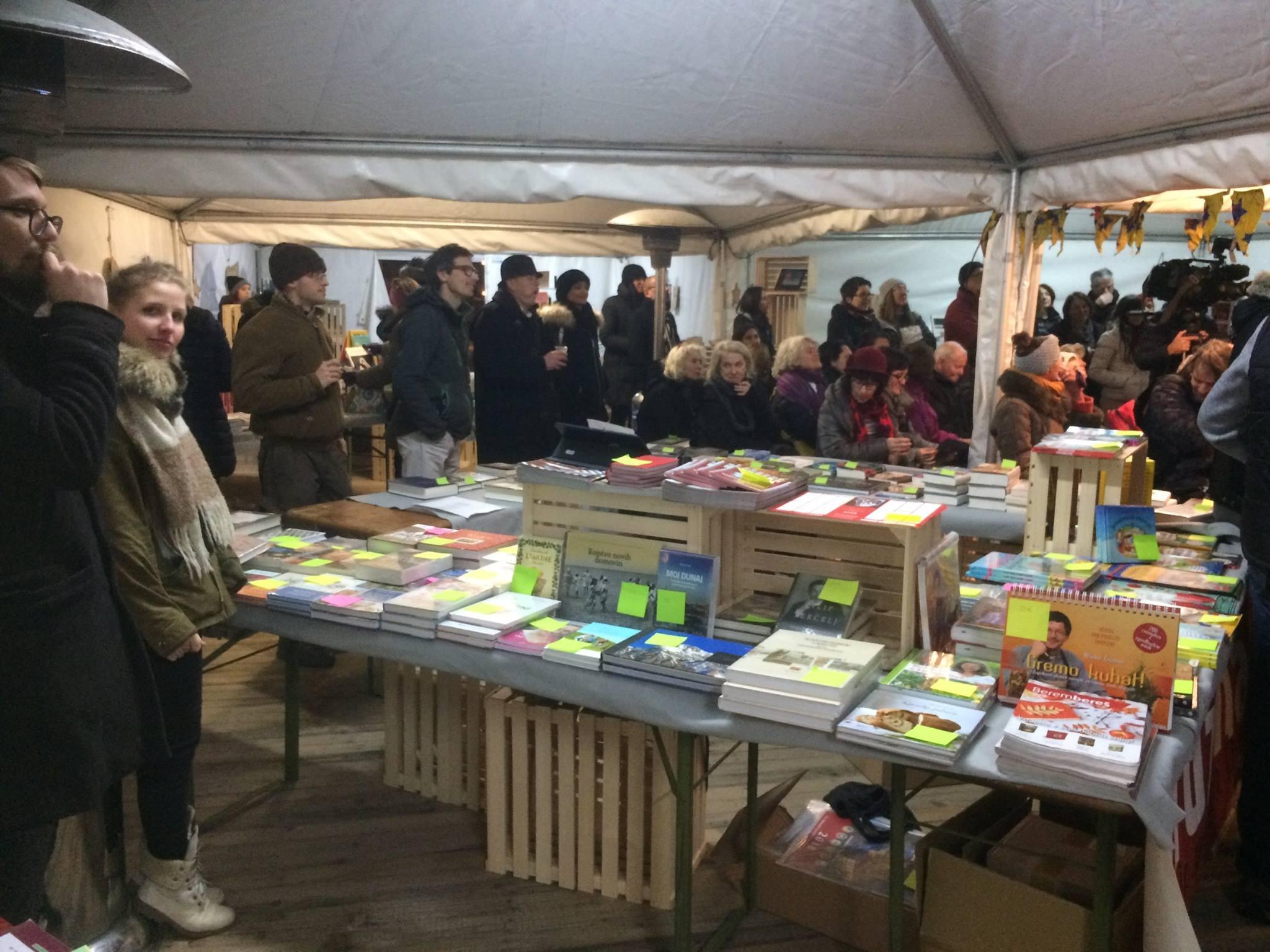 Knjige pod jelkami 2017